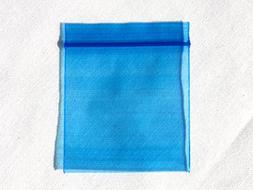 "1000 BAGS 125125 1.25"" x 1.25"" MINI ZIPLOCK BLUE PLASTIC BAG"
