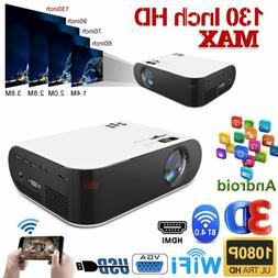 1080p 4k android portable mini video projector