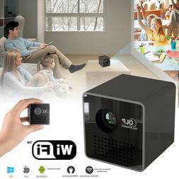 1080P DLP Wifi Mini Pocket LED Projector Home Theater Cinema
