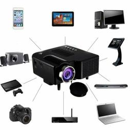 1080P Full HD LED Mini Portable Projector Home Theater Cinem