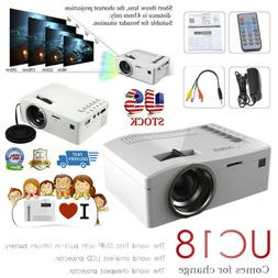 1080P HD LED Home MulitMedia Theater Cinema USB TV VGA SD HD