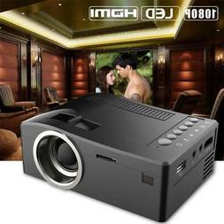 1080P HD LED Home MulitMedia Theater Cinema USB TV VGA SD HD