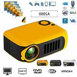 1080P HD Mini Portable Home Theater Projector Multimedia Mov