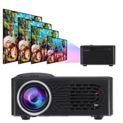 1080P HD Mini Projector HDMI VGA USB Home Theater Cinema Pro