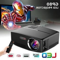 1080P HD Portable Smart 3D LED Projector 4K Mini Home Theate