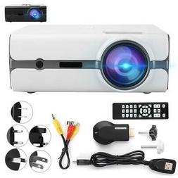 1080P HD WiFi Portable 3D LED Mini Video Projector Home Cine