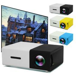1080P Home Cinema Theater USB HDMI AV SD Mini Portable HD LE