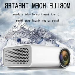 1080P Home Theater Cinema USB AV VGA SD HDMI Mini Portable F