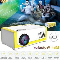 HD 1080P Home Theater Cinema USB HDMI AV SD Mini Portable HD