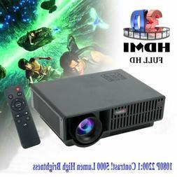 1080P Home Theater Cinema USB HDMI AV SD Mini Portable HD LE