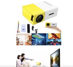 1080P Home Theater Cinema USB HDMI YG300 AV SD Mini Portable