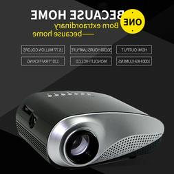 1080P Mini HD LED 3D Projector Home Cinema Theater Multimedi