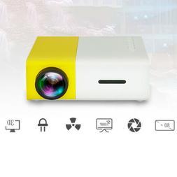 1080P Mini Video projector TV Home Theater Projector HDMI US