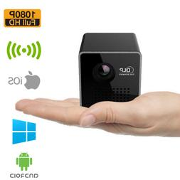 1080P HD Mini Wifi Wireless DLP Projector Portable LED Home
