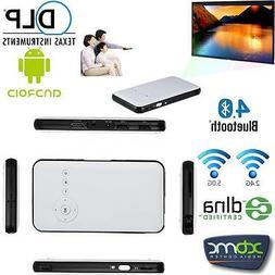 "120"" inch Mini Portable 3000 Lumens Android Projector +TV BO"