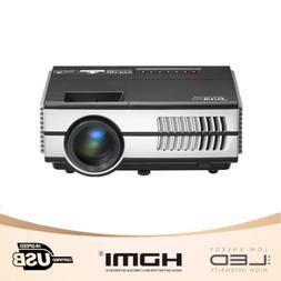 1500lms HD Mini Multimedia LED Projector 1080p Home Theater