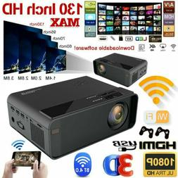 18000Lumen Portable Mini Projector 4K HD 1080P Home Theater