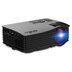 Shenboxun Upgraded Home Theater Mini Projector,LED Multimedi