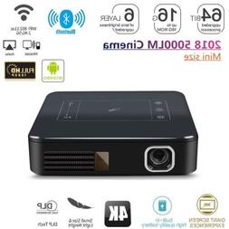 2018 Android DLP 2G+16G Ultra HD 4K Theater Projector Wifi M