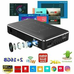 2019 Mini 5000Lumen Android DLP 4K HD 1080P Home Theater Pro