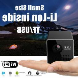 2019 Mini Pico Projector Android DLP HD 1080P Home Cinema Th
