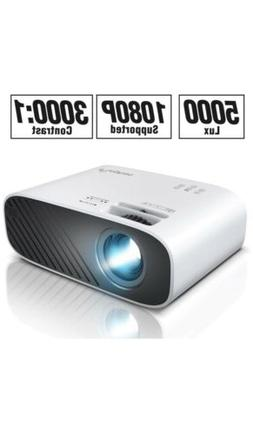 2020 Mini Movie Projector 5000 LUX Full HD 1080P Video Proje