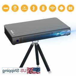 2020 Mini Projector T6  Android 6.0 Protable Video Projector