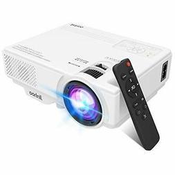 2020 Newest, Jinhoo Mini Overhead Projector Full HD 1080P Su