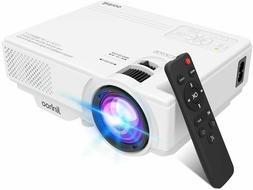 Full HD 1080P Portable Mini Home Theater Cinema Movie Video