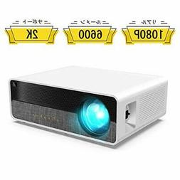 ELEPHAS  1080P projector 6600lm 2k support 300 inches l
