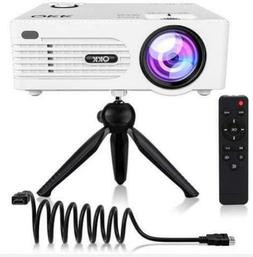 QKK 2200lumen Mini Projector - Full HD LED Video Projector 1