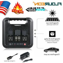 FLOUREON 220Wh Portable Power Station Home Camping Emergency