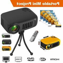 23000lm mini 1080p portable pocket projector movie