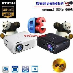 2500 lumens mini 3d home cinema theater