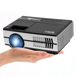 Multimedia 2800LM Mini LED Projector Portable HDMI USB VGA H