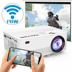POYANK 2800Lumens LED Wireless Mini Projector, WiFi ... New