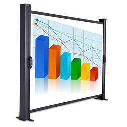 """30"""" TableTop Handheld Projector Screen Mini Projection Mobil"""