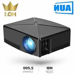 3000 Lumens Full HD AUN MINI Projector C80UP, Android WIFI,