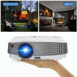 3600lms HD1080P Mini LED Projector Home Theater Video HDMI U
