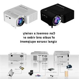 3D 1080P Full HD Mini Projector LED Multimedia Home Theater