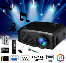 3d 1080p mini wireless portable projector 5000