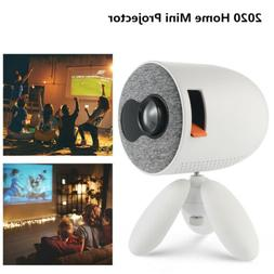 4K 1080P HD Projector 3D LED HDMI USB Video Mini Portable Ho
