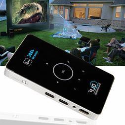 4K 3D Full HD Smart DLP Mini Projector LED Android WiFi 1080