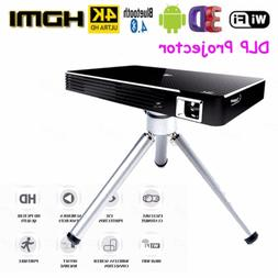 4k smart dlp mini projector android wifi