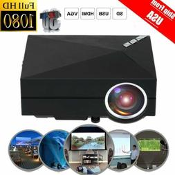5000 lumens Mini Portable Digital 3D LCD LED HD Projector Ho