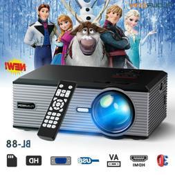 5000 Lumens Portable Mini Projector HD 1080P Home Theater Ci