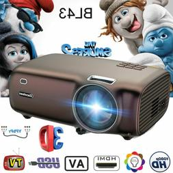 YG300 Mini Portable Smart Home Theater Projector 1080P HDMI