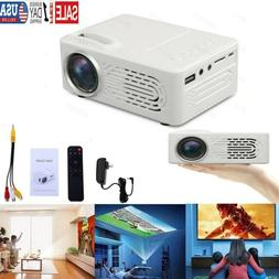 7000 Lumens 3D 1080P Full HD Mini Projector LED Multimedia H