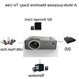 7000 Lumens 3D Full HD 1080P HDMI Mini Projector LED Home Mu