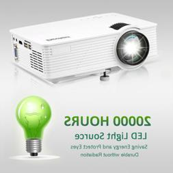 3D Full HD 1080P Mini Projector LED Multimedia Home Theater